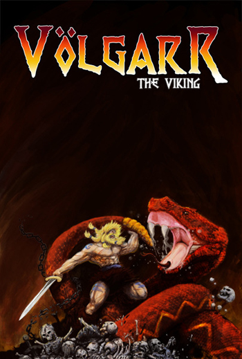 Concept Art / Poster for Volgarr the Viking Videogame