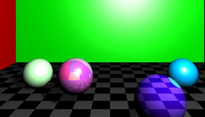 GPU Ray Tracer Demo by Brandon Fogerty