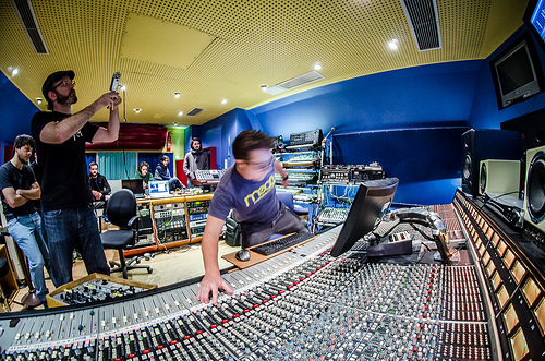 Your sound studio probably won't be this cool. dantaylorphotography / flickr