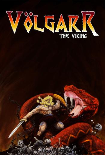 Concept Art / Poster for Volgarr the Viking Videogame