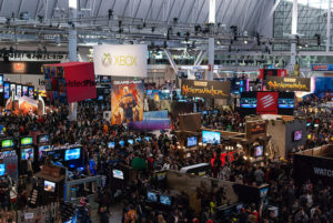A video game community at PAX East